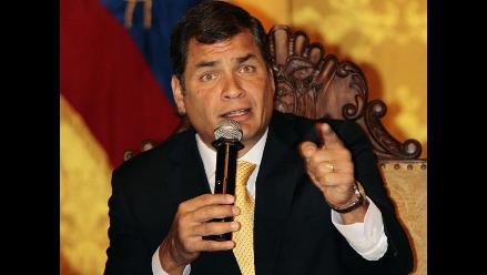 Correa: Sería suicida que agentes británicos ingresen a embajada