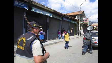 Bambamarca amaneció paralizada en segundo día de paro contra Conga