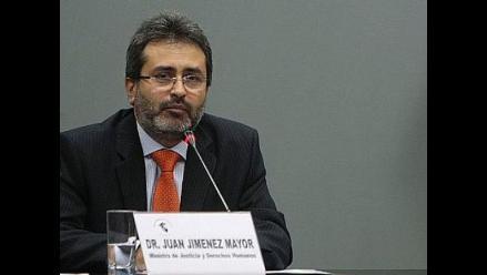 Jiménez Mayor: El tema del proyecto Conga ´ya salió´ del debate