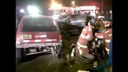 Accidente en Circuito de Playas dejó un muerto y cuatro heridos
