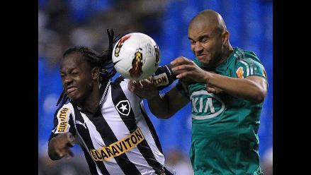 Palmeiras pierde 1-3 ante Botafogo pero avanza en la Copa Sudamericana