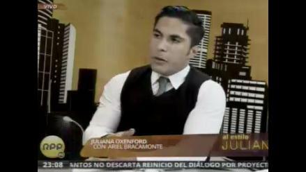 Ariel Bracamonte: Eva desistió de careo porque no le conviene
