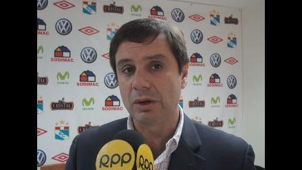 Presidente de Sporting Cristal: Que se defina de una vez lo de Cobresol