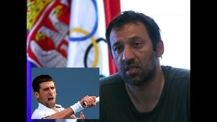 Vlade Divac se desdice y niega que Djokovic rompiese sus raquetas en JJOO