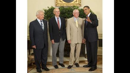EEUU: Presidente Barack Obama lamenta la muerte de Neil Armstrong