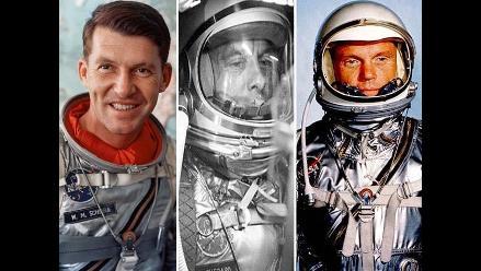 Estos fueron las primeros astronautas en viajar al espacio