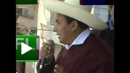 Gregorio Santos: Conga está muerto y los muertos no se levantan