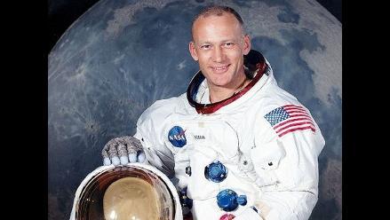 Buzz Aldrin califica a Armstrong de excepcional piloto y gran líder