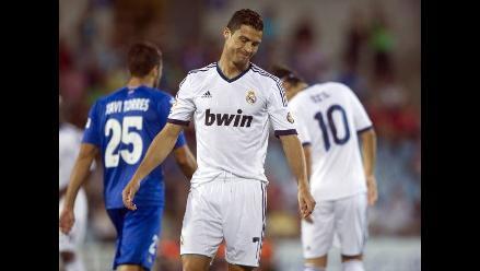 Getafe venció 2-1 al Real Madrid por la segunda fecha de la liga