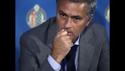 José Mourinho calificó como inaceptable el juego del Real Madrid