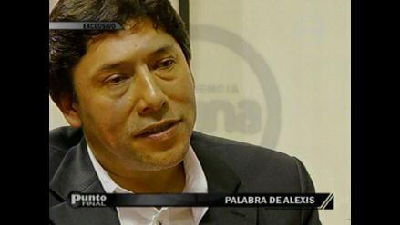 Alexis Humala es citado al Congreso para este 7 de setiembre