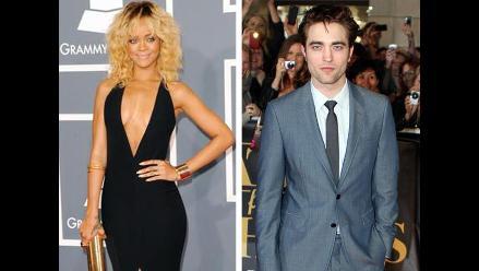 Rihanna coquetea con Robert Pattinson a través de SMS, aseguran