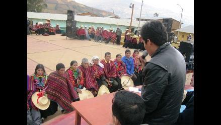 Parejas contraen matrimonio en zona altoandina de Lambayeque