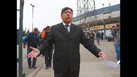 Fiscal pide cinco años de prisión para Guillermo Alarcón
