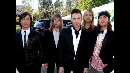 Fanáticos vieron cenar a los Maroon 5 en hotel de San Isidro