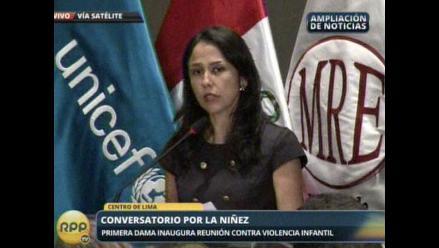 Nadine Heredia: En el Perú no se maltrata a su infancia