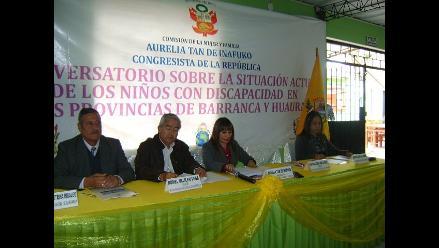 Abordan problemática sobre niños con discapacidad en Barranca y Huaura