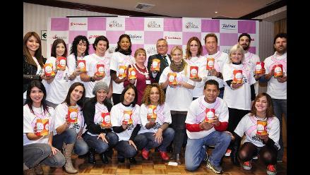Artistas se unen para colecta pública de Liga Peruana Contra el Cáncer