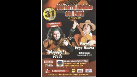 Guitarra Andina del Perú en la Derrama Magisterial