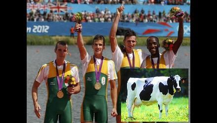 En Sudáfrica un granjero regala una vaca a cada medallista de oro