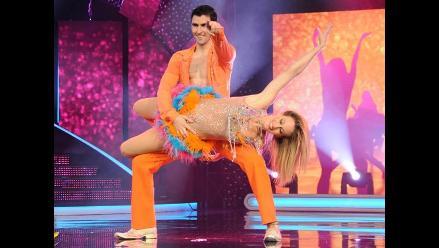 Denisse Dibos lideró puntaje en El Gran Show a ritmo de cumbia