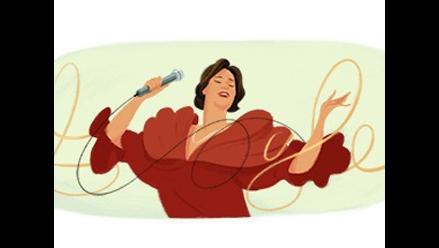 Google le rinde homenaje a la eterna Chabuca Granda