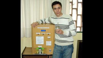 Argentino crea la primera máquina para hacer infusión de yerba mate