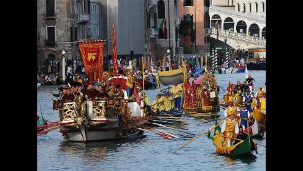 Venecia, ´ciudad de los canales´ vive su Regata Histórica