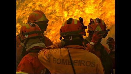 Portugal pidió ayuda europea para combatir los incendios forestales