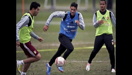 Venezuela realizó primer entrenamiento en Lima para duelo contra Perú