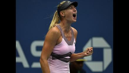 Maria Sharapova vence a Bartoli y avanza a semifinales en el US Open