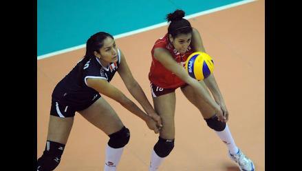 Selección peruana Sub 23 de vóleibol perdió ante República Dominicana