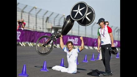 Alex Zanardi, el ex-piloto de F1 que pasó a ser campeón paralímpico