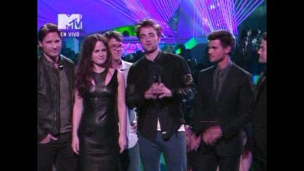 MTV VMA: elenco de Crepúsculo presenta tráiler sin Kristen Stewart