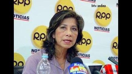 Martha Chávez: ´Informe de la CVR debe tirarse a la basura´