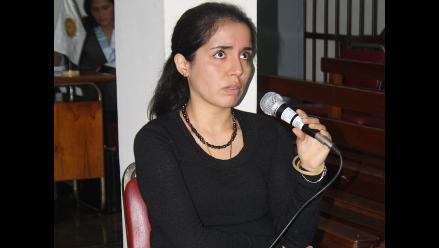 Se suspendió el juicio oral de Elizabeth Espino