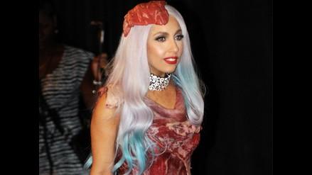 Vestido de carne de Lady Gaga se exhibirá en el Salón de la Fama