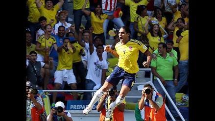 Reviva en imágenes el triunfo de Colombia sobre Uruguay