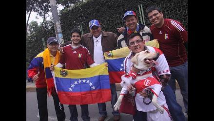 Vea en imágenes la previa del partido entre Perú y Venezuela