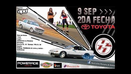 El Campeonato de Drifting vuelve a ´La Chutana´ este domingo