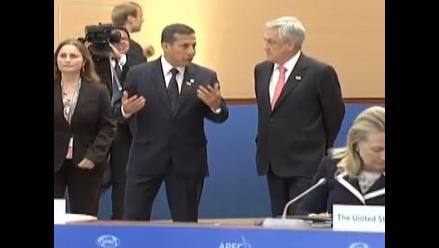 Humala resaltó que Perú y Chile se han comprometido a respetar fallo