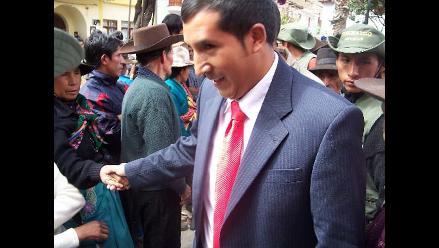 Acusan a alcalde de San Marcos de malgastar dinero del canon minero