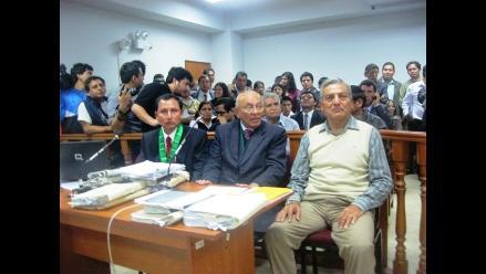 Trujillo: Elidio Espinoza vuelve a juicio por muerte de delincuentes