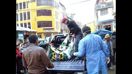 Junín: Tres muertos deja choque de automóvil contra muro de contención