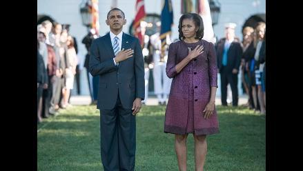 Obama encabezó minuto de silencio en honor a víctimas del 11S