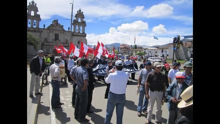 Juntas vecinales de Cajamarca protestarán contra la empresa Sedacaj