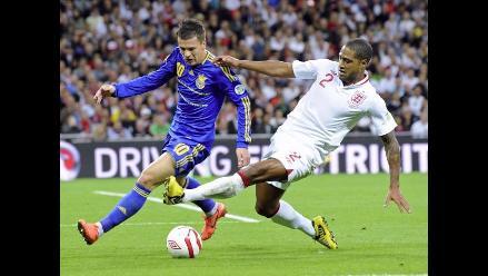 Inglaterra se complica en Clasificatorias con empate ante Ucrania