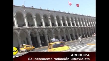 Se incrementa radiación ultravioleta en Arequipa