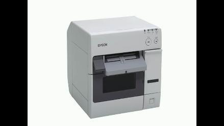 Impresora TM- C3400 de Epson, diseñada para uso médico y farmacéutico