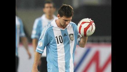 Lionel Messi: Ante Perú fue un partido muy luchado